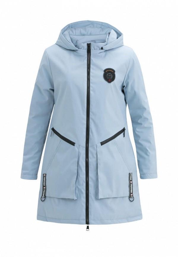утепленные куртка jan steen для девочки, голубая