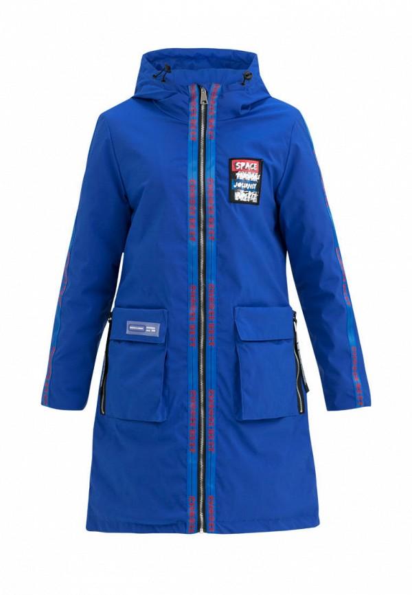 утепленные куртка jan steen для девочки, синяя