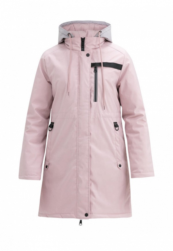 утепленные куртка jan steen для девочки, розовая