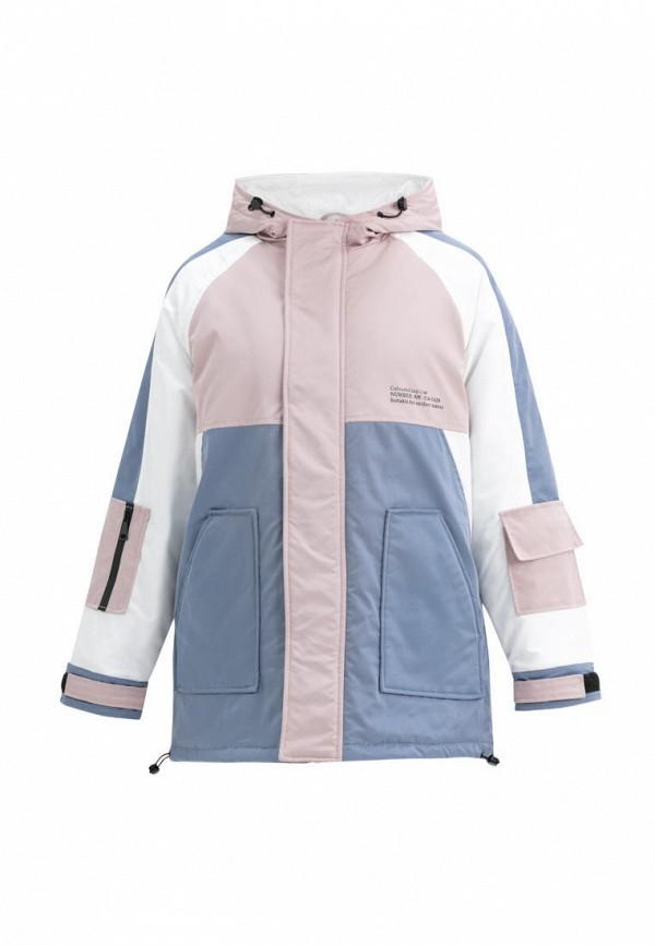 утепленные куртка jan steen для девочки, разноцветная