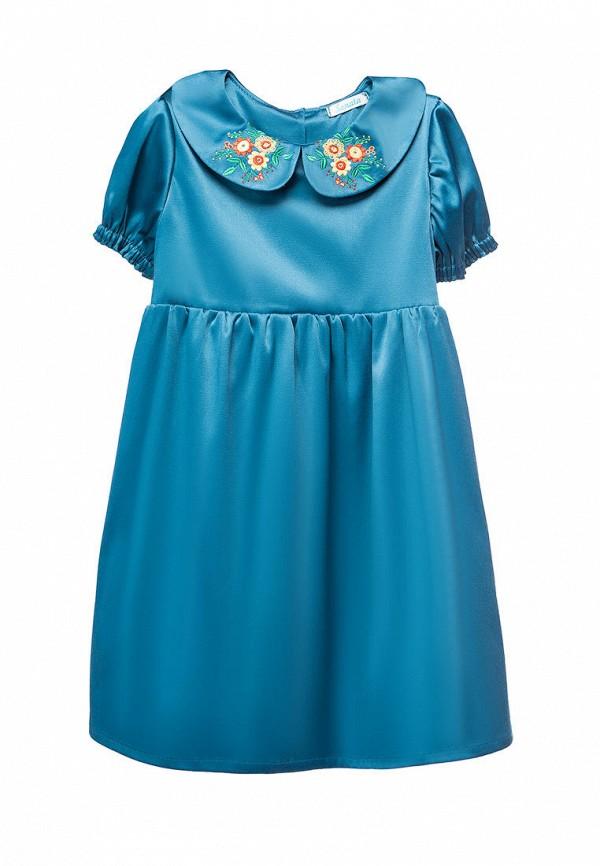 платье sonata kids для девочки, синее