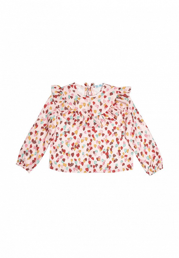 блузка sonata kids для девочки, розовая