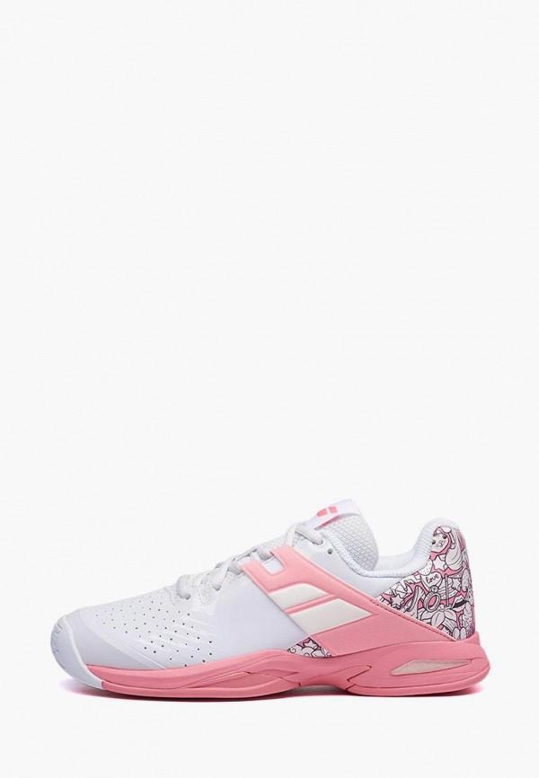 кроссовки babolat для девочки, розовые