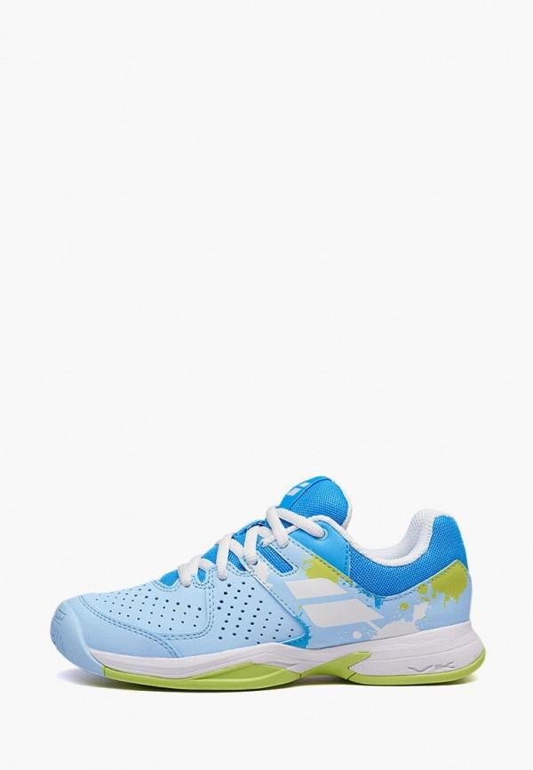 кроссовки babolat для девочки, голубые