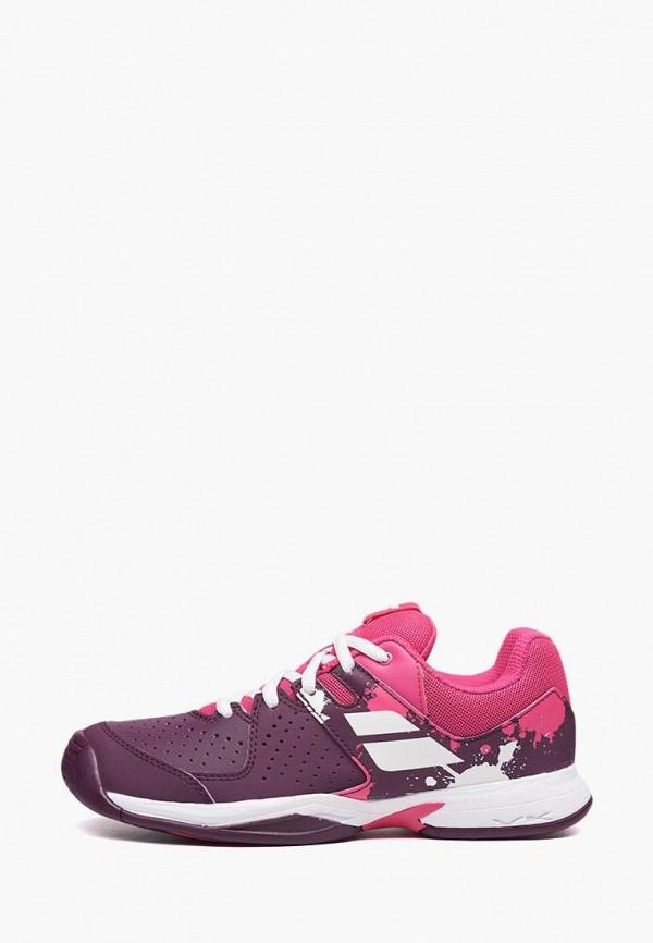 кроссовки babolat для девочки, фиолетовые