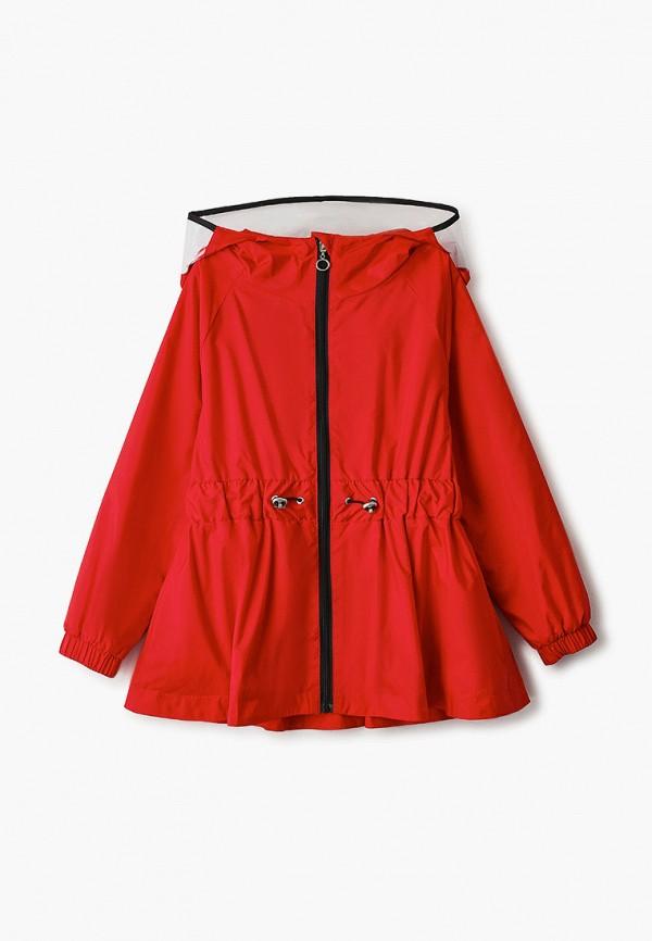 ветровка шалуны для девочки, красная