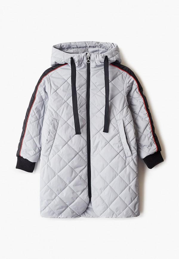 утепленные куртка шалуны для девочки, серая
