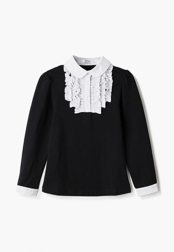 блузка tforma для девочки, черная