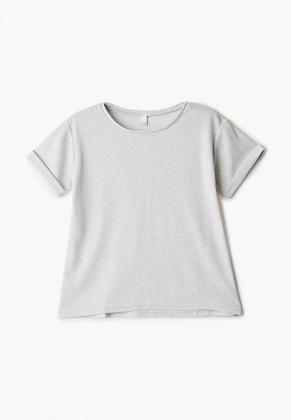 блузка tforma для девочки, серебряная