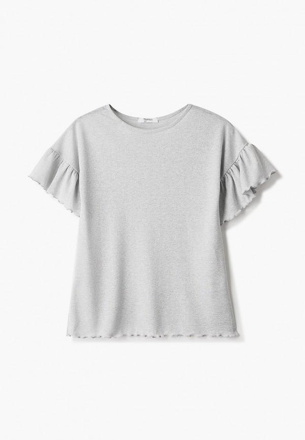 повседневные платье tforma для девочки, серебряное