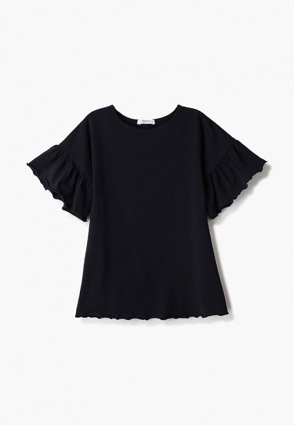 футболка с коротким рукавом tforma для девочки, синяя