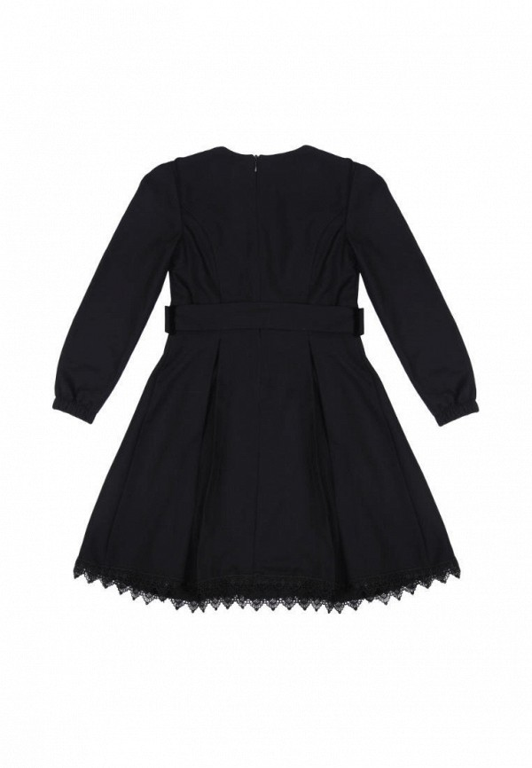 повседневные платье timbo для девочки, черное