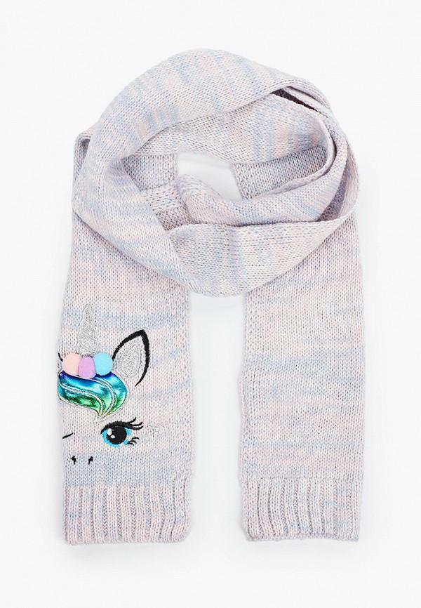 шарф acoola для девочки, розовый