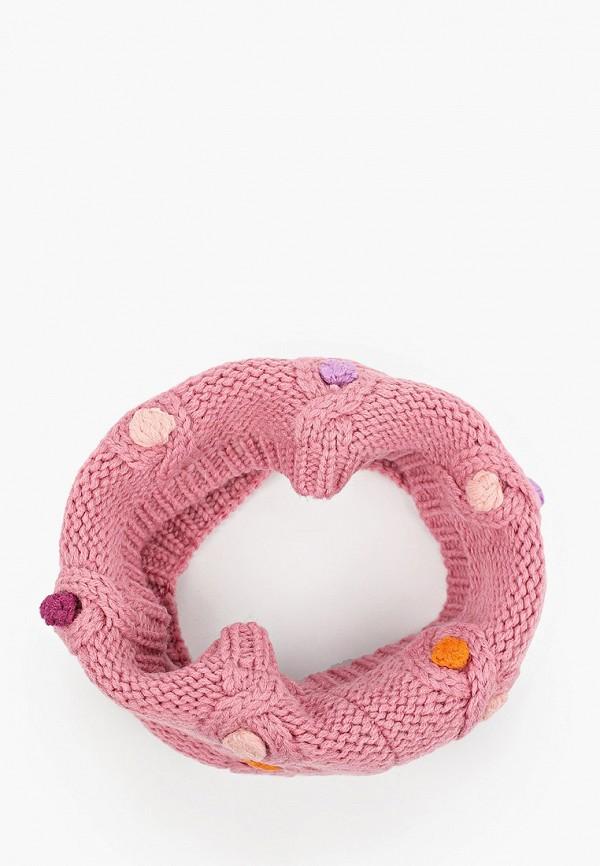 снуд acoola для девочки, розовый