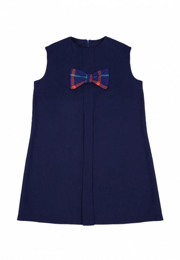 повседневные платье timbo для девочки, синее