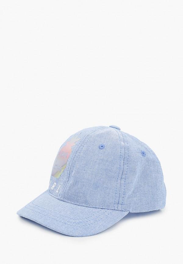 бейсболка coccodrillo для девочки, голубая