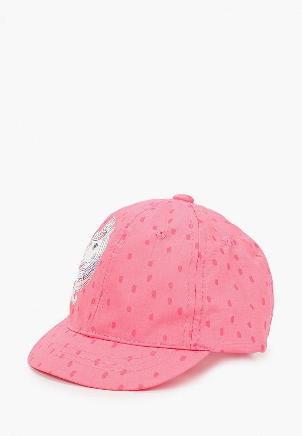 бейсболка coccodrillo для девочки, розовая