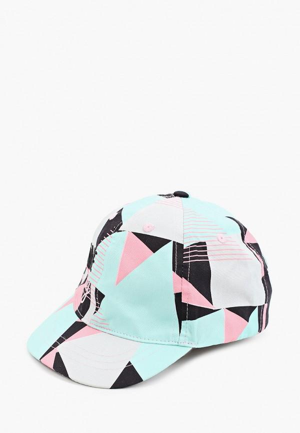 бейсболка coccodrillo для девочки, разноцветная