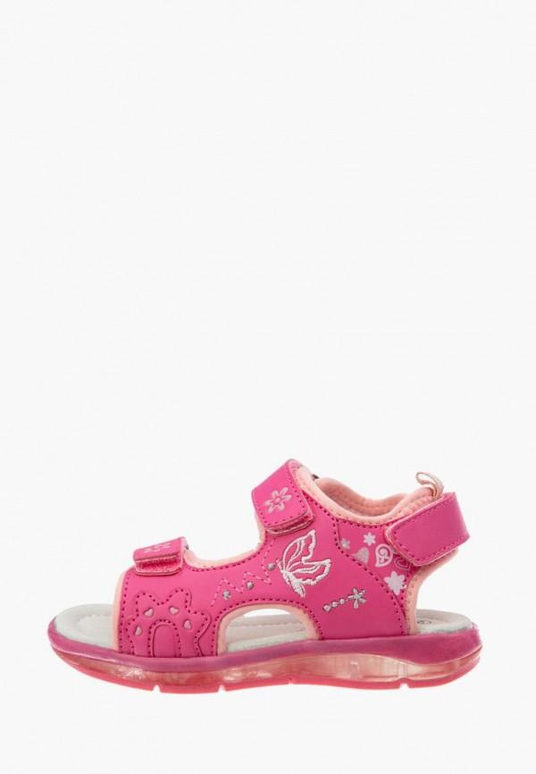 сандалии playtoday для девочки, розовые