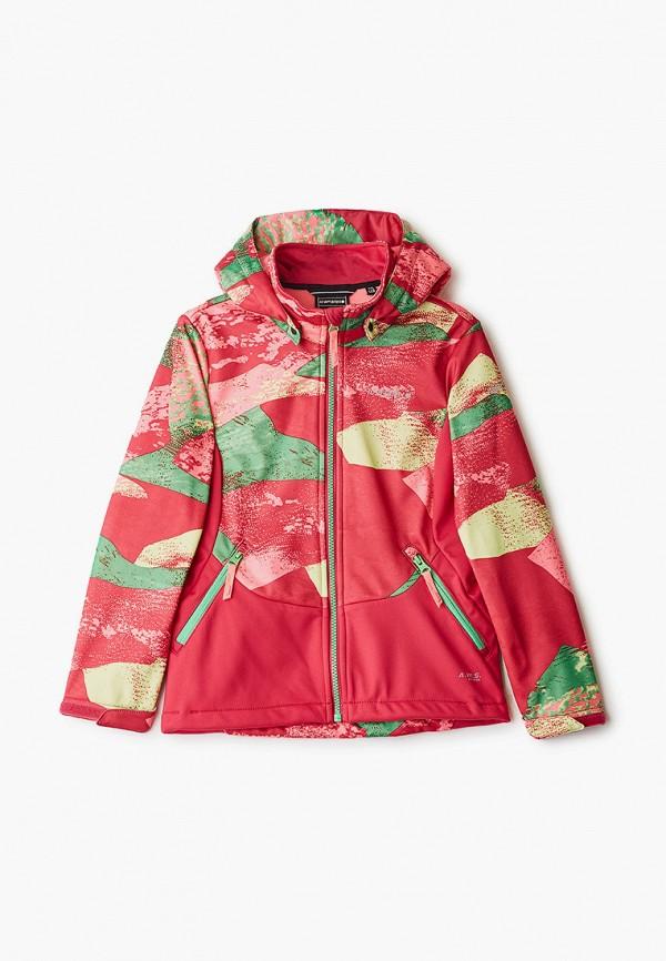 легкие куртка icepeak для девочки, розовая