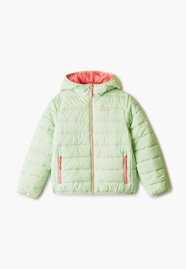 куртка icepeak для девочки, зеленая