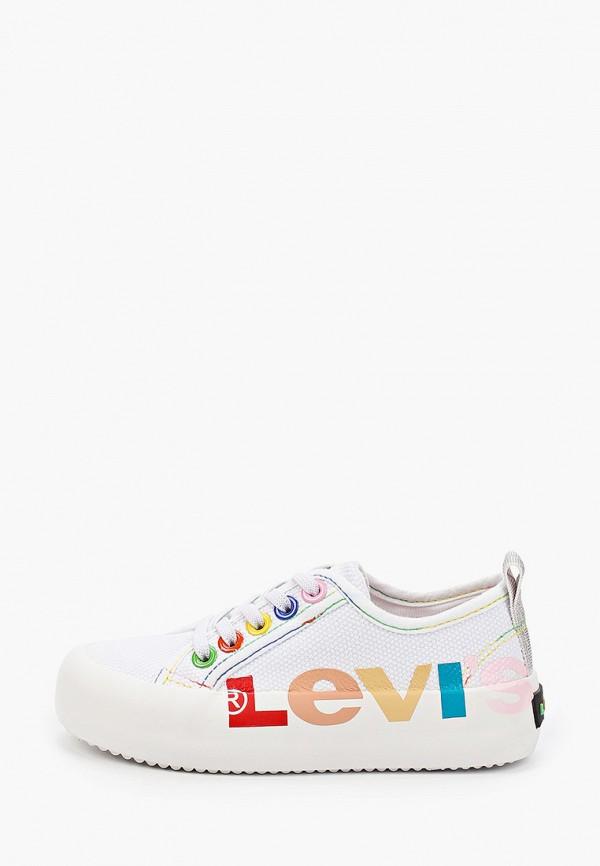 кеды levi's® для девочки, белые