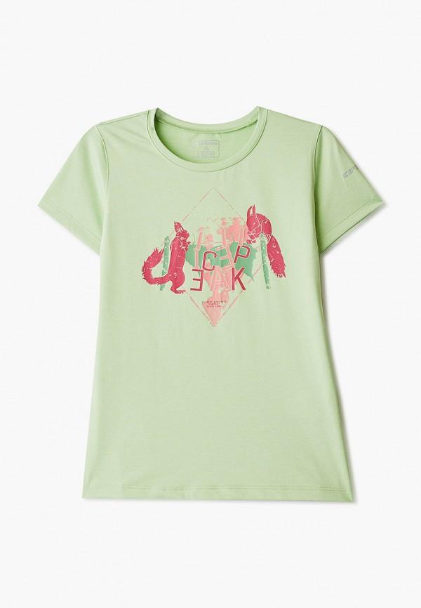 джемпер icepeak для девочки, зеленый