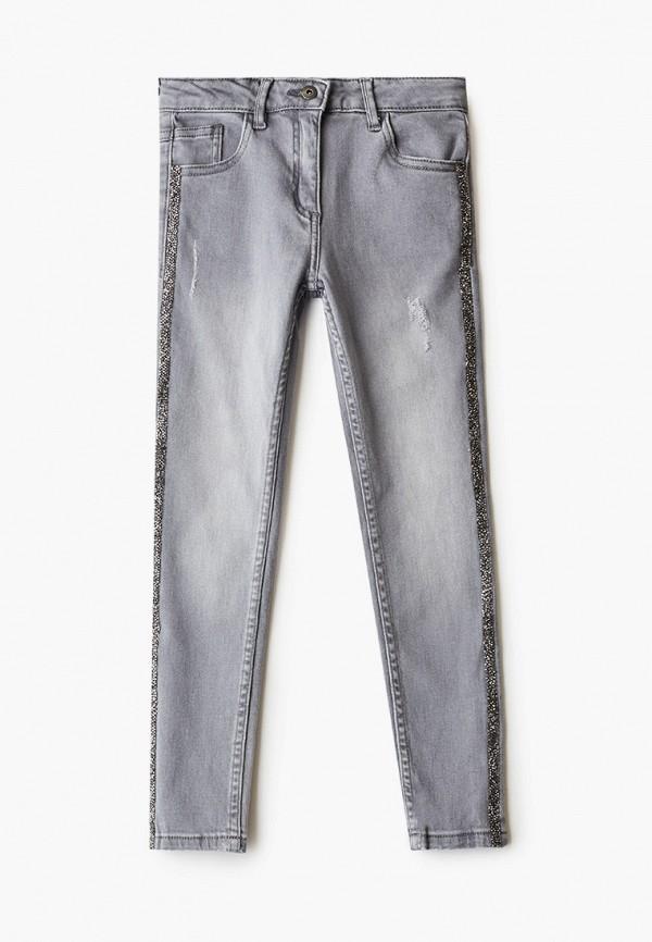 джинсы coccodrillo для девочки, серые