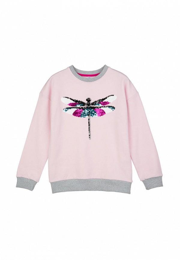 свитшот playtoday для девочки, розовый