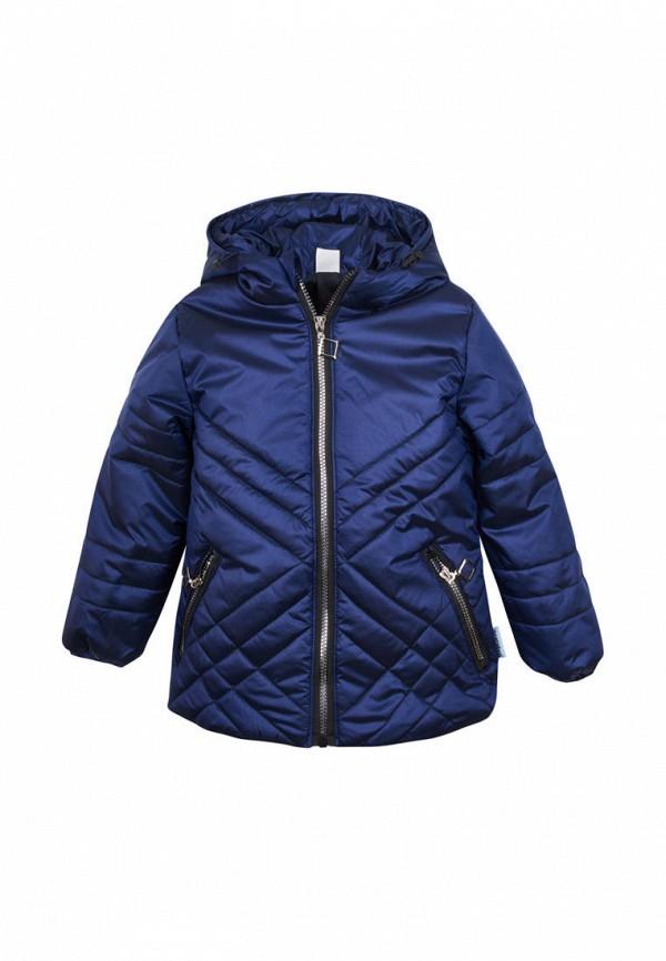 куртка одягайко для девочки, синяя