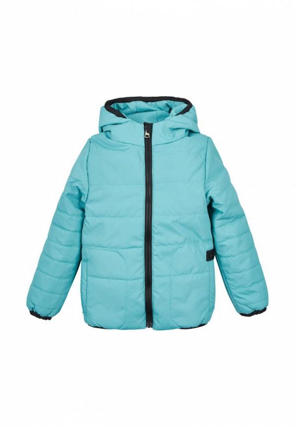куртка одягайко для девочки, голубая