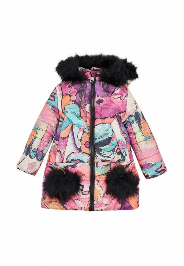 куртка одягайко для девочки, разноцветная