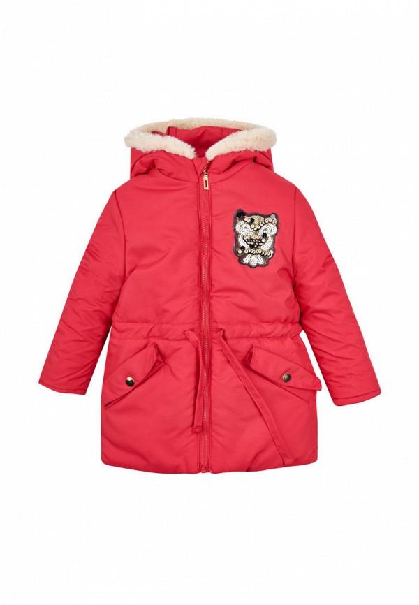 куртка одягайко для девочки, красная