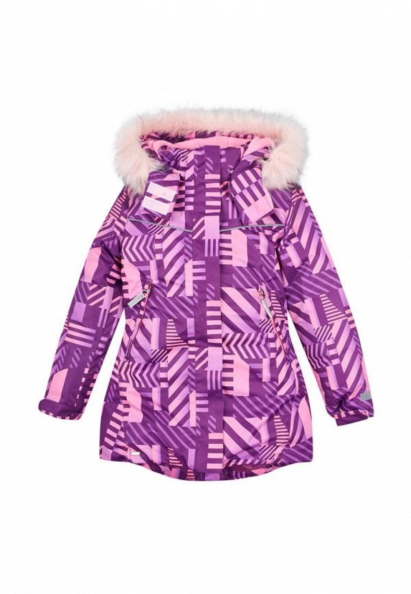 куртка бемби для девочки, разноцветная