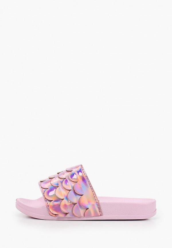 сланцы coccodrillo для девочки, розовые