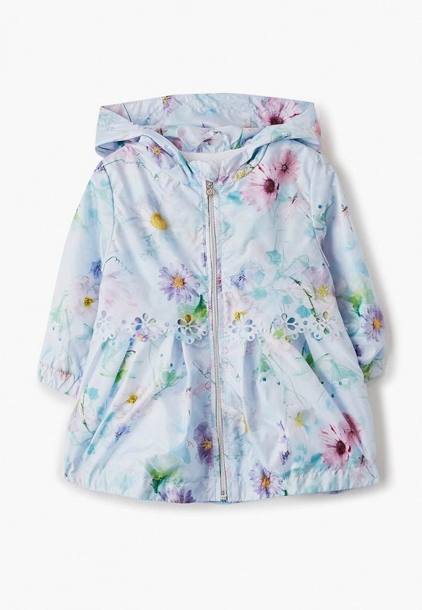 ветровка artel для девочки, разноцветная