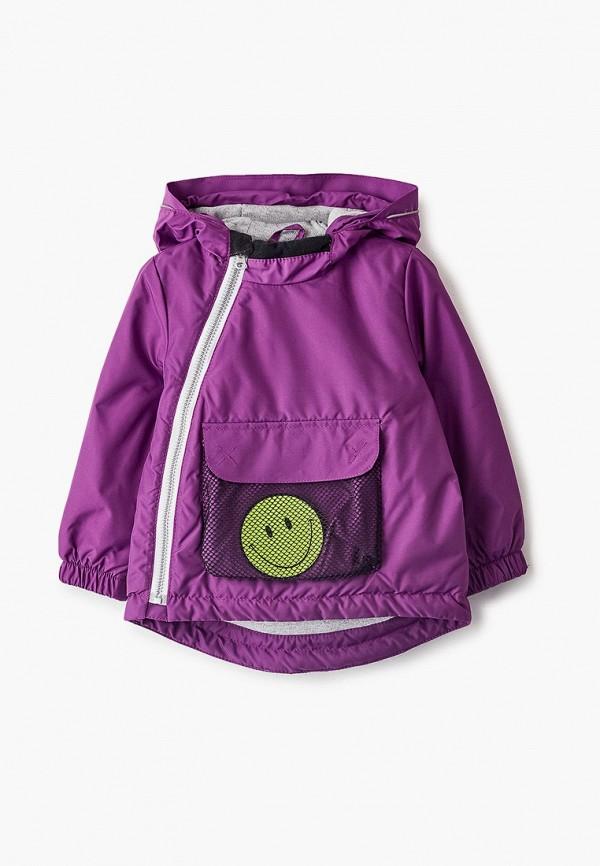 утепленные куртка artel для девочки, фиолетовая