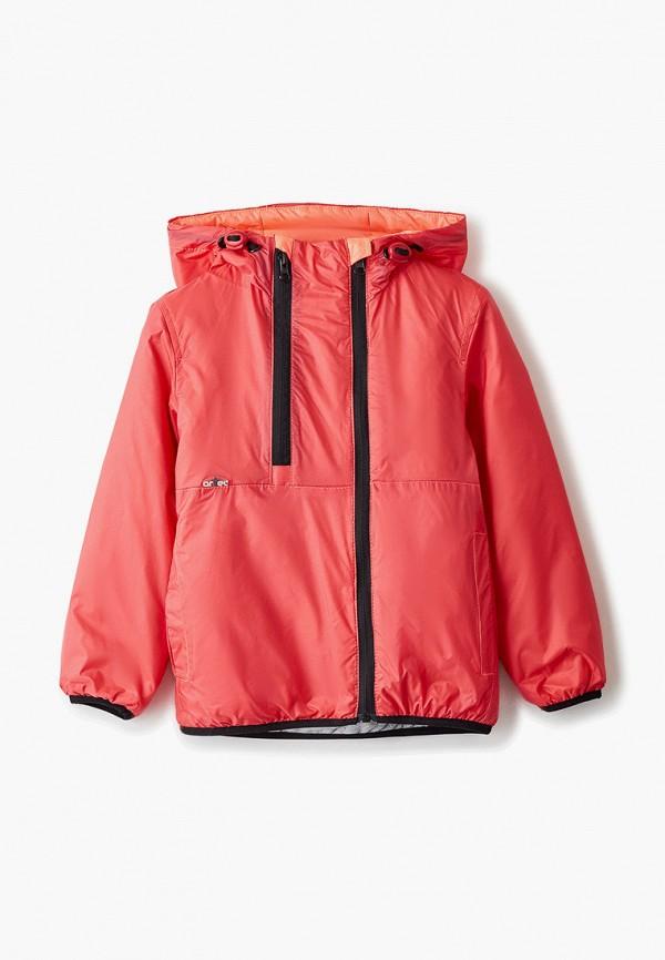 утепленные куртка artel для девочки, красная