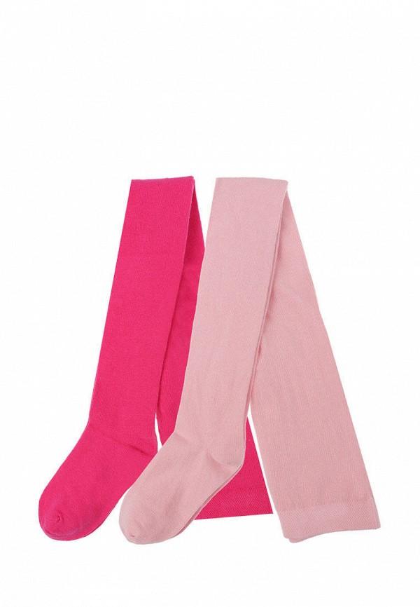 Колготки для девочки 2 шт. PlayToday цвет розовый