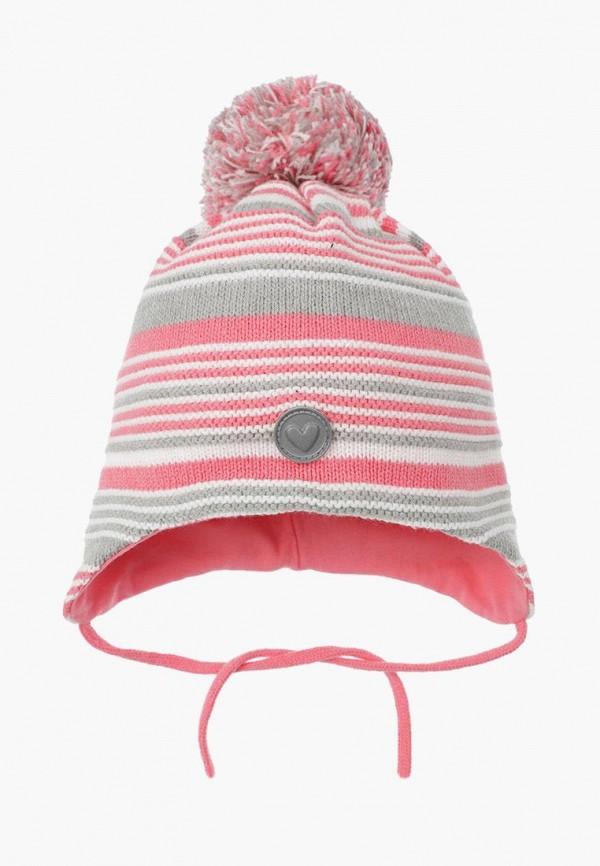 шапка playtoday для девочки, разноцветная