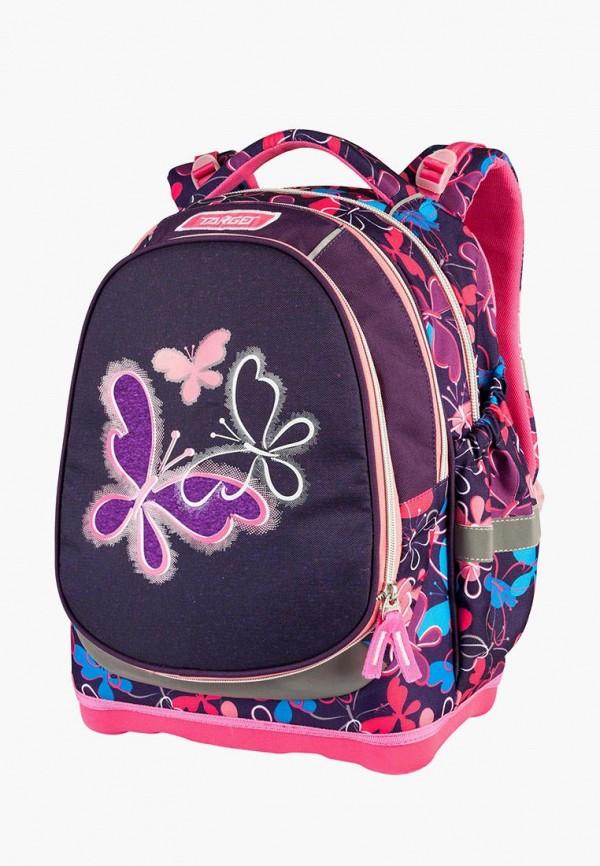 рюкзак target для девочки, фиолетовый