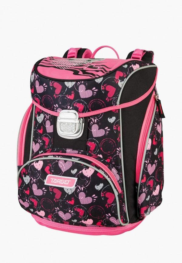 рюкзак target для девочки, черный