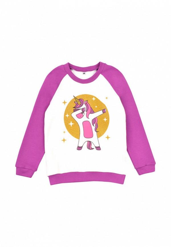 свитшот garnamama для девочки, розовый