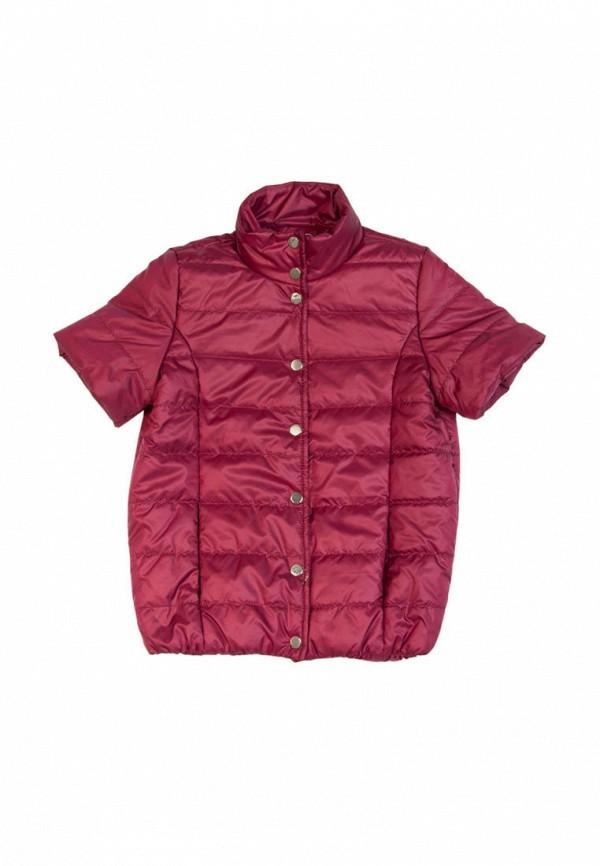 куртка sofia shelest для девочки, бордовая