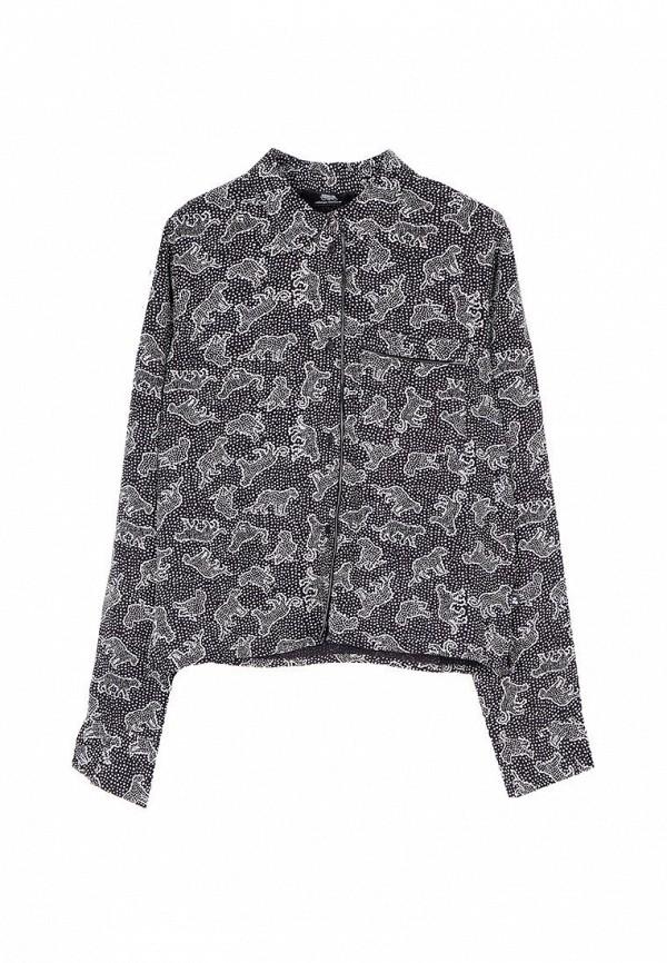 блузка le temps des cerises для девочки, черная