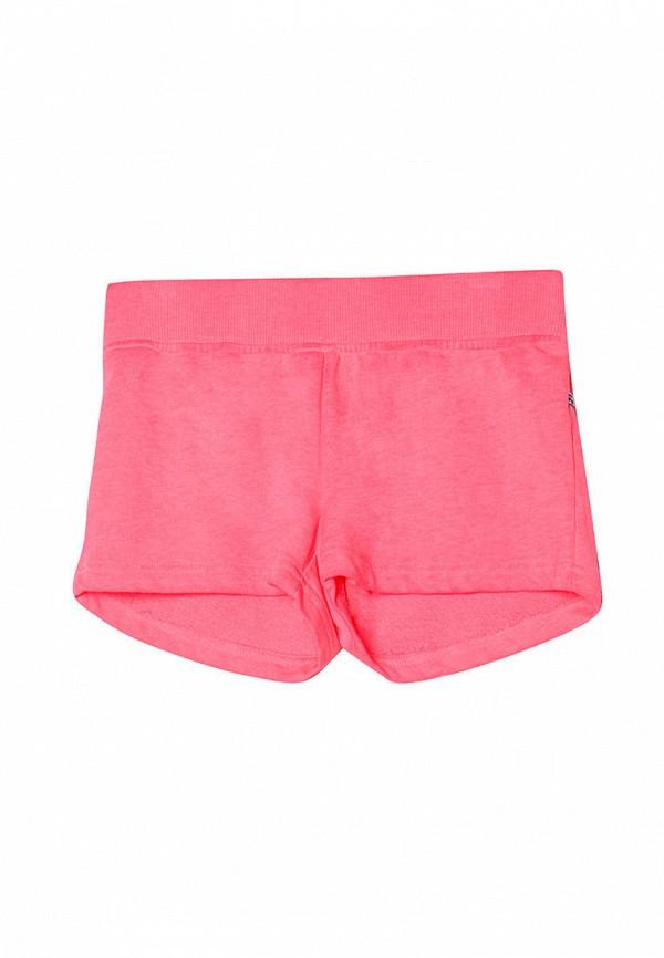 спортивные шорты le temps des cerises для девочки, розовые