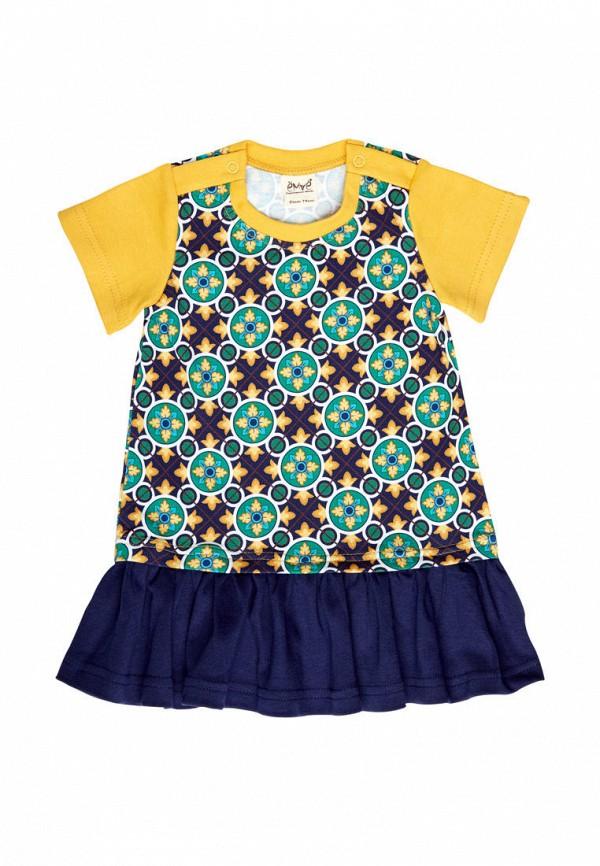 повседневные платье ёмаё для девочки, синее