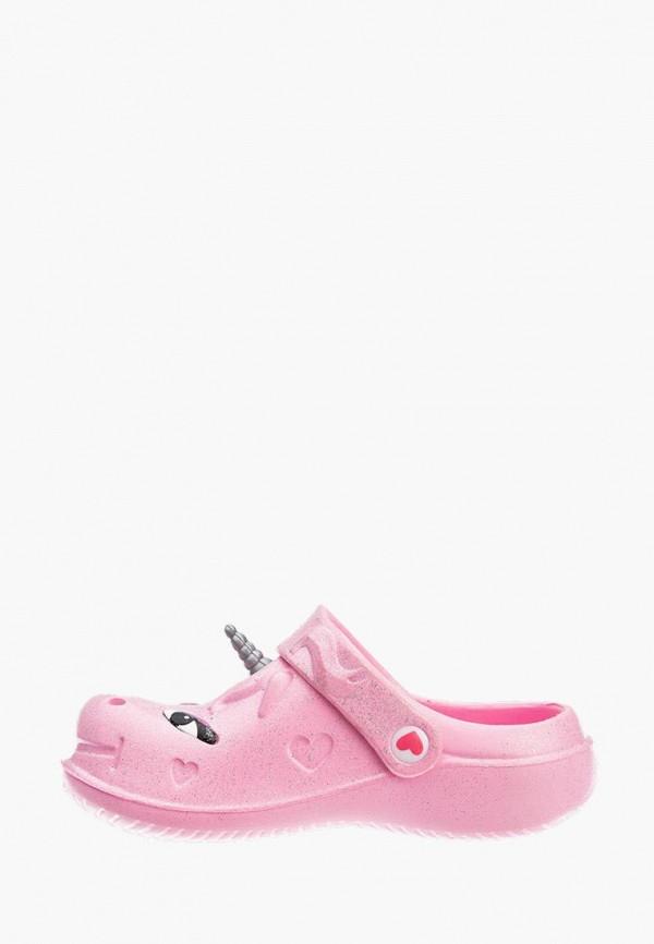 сабо playtoday для девочки, розовое