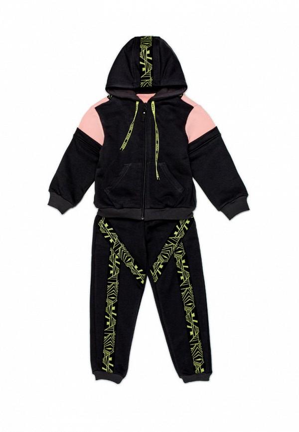 спортивный костюм ёмаё для девочки, черный