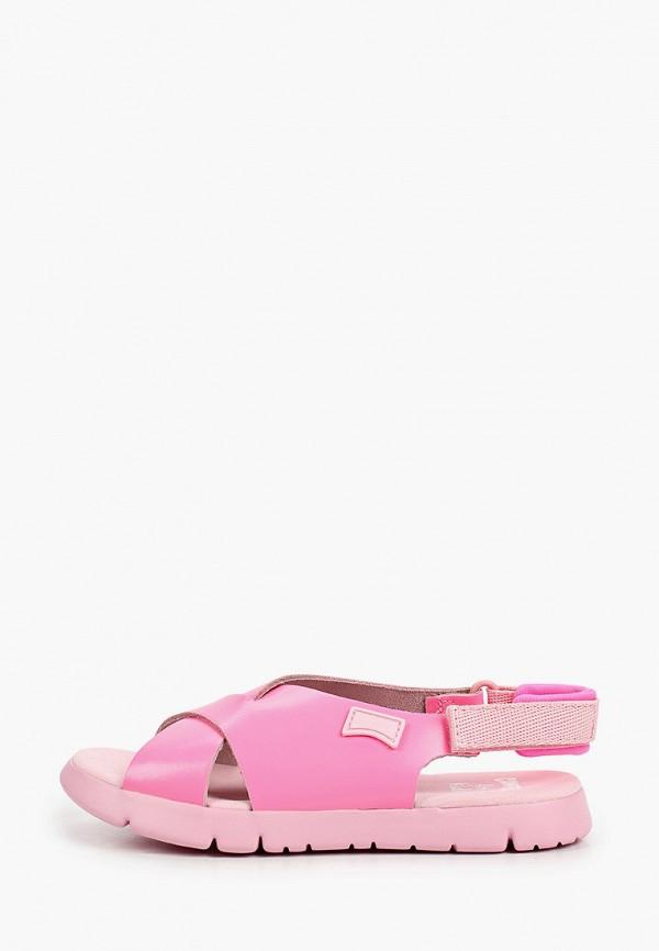 Сандалии Camper розового цвета